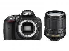Фотоапарат Nikon D5300 Black тяло + Обектив Nikon AF-S DX Nikkor 18-105mm f/3.5-5.6G ED VR + Комплект Nikon DSLR Kit (CF-EU11 Bag + 32GB SD)