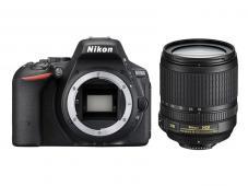 Фотоапарат Nikon D5500 Black тяло + Обектив Nikon AF-S DX Nikkor 18-105mm f/3.5-5.6G ED VR