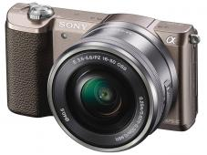 Фотоапарат Sony Alpha A5100 Brown Kit (16-50mm OSS) + Памет SDHC SanDisk Extreme 32GB UHS-I V30 (U3) 90MB
