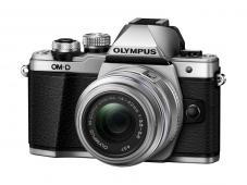 Фотоапарат Olympus OM-D E-M10 Mark II Silver тяло + Обектив Olympus M.Zuiko Digital 14-42mm f/3.5-5.6 II R + Батерия JUPIO LI-ION (заместител на Olympus BLS5 / BLS50)