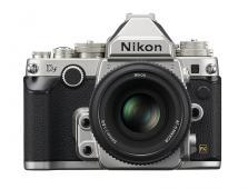 Фотоапарат Nikon Df Silver тяло + Обектив Nikon AF-S Nikkor 50mm f/1.8G Special Edition