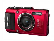 Фотоапарат Olympus Stylus TG-4 Red + Адаптер Olympus LG-1 LED Light Guide