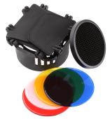 Комплект клапи, пчелна пита и цветни филтри Dyanaphos за Delicacy II