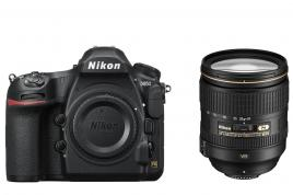 Фотоапарат Nikon D850 тяло + Обектив Nikon AF-S Nikkor 24-120mm f/4G ED VR