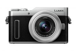 Фотоапарат Panasonic Lumix GX880 + Обектив Panasonic Lumix G VARIO 12-32mm f/3.5-5.6 ASPH. MEGA O.I.S. - Сив