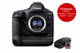 Фотоапарат Canon EOS 1Dx Mark III + 64GB CFexpress карта и четец
