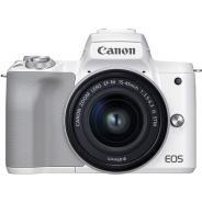 Фотоапарат Canon EOS M50 Mark II White Тяло + Обектив Canon EF-M 15-45mm f/3.5-6.3 IS STM