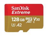Памет microSDXC SanDisk Extreme PRO 128GB V30-A2